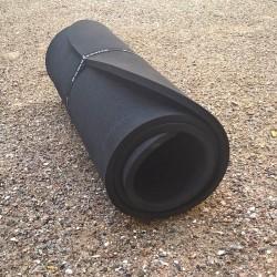14 mm Liggeunderlag 190 x 60 cm EV50, 1,4 cm, BLACK