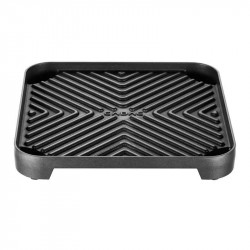 2Cook grillplade med riller