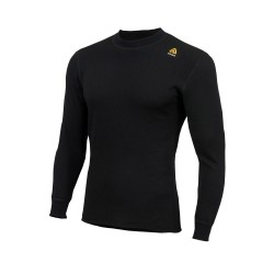 Aclima HotWool 230 g Crew Neck, XL, JET BLACK