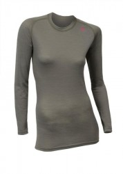 ACLIMA Lightwool Crew Neck Woman - Ranger Green