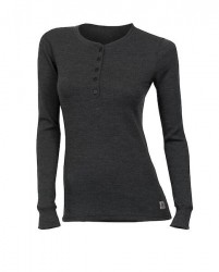 ACLIMA Warmwool Granddad Shirt Woman Marengo