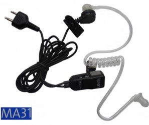 AE 31-S Security Headset Midland Connector