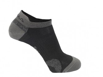 Ankle Socks 2-pack Iron Gate-Jet Black