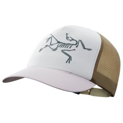 Arcteryx Bird Trucker Hat, ONE SIZE, ANTENNA/SYMBIOME/DELOS GREY