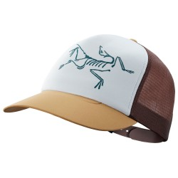 Arcteryx Bird Trucker Hat, ONE SIZE, ELK/FLUX/DELOS GREY