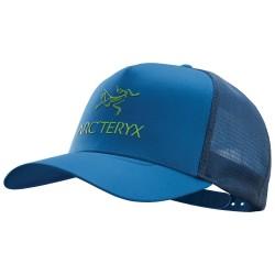 Arcteryx Logo Trucker Hat, ONE SIZE, COBALT SUN