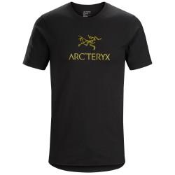 Arcteryx Mens Arcword T-shirt S/S, L, 24K BLACK