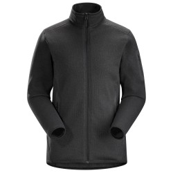 Arcteryx Womens Covert Cardigan, XL, BLACK HEATHER
