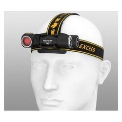 Armytek Wizard WR Magnet USB + 18650 / Warm & Red light / 930 lm & 250 lm / TIR 70°:120° - Lommelygte