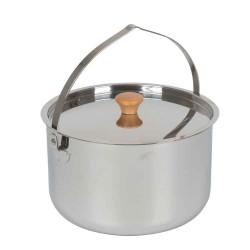 Bålgryde 6,5 liter rustfrit stål