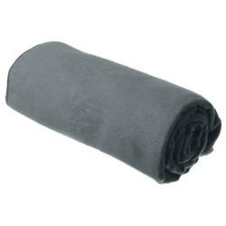 Badehåndklæde XL i blød mikrofiber (75 x 150 cm) Grey