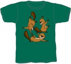 Bæver T-shirt KFUM-Spejderne