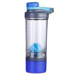 Blå compartment + 650 ml shake & go fit contigo