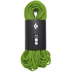 Black Diamond 8.5 Rope - 70m - Dry - GREEN - Str. 070 - Reb