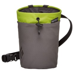 Black Diamond Gym Chalk Bag, M-L, VERDE