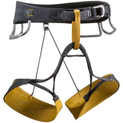 Black Diamond Mens Zone Harness, L, CURRY