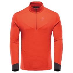 BlackYak Mens Carora L/S Shirt, L, FIERY RED