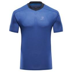 BlackYak Mens Finn ST S/S Shirt, S, BLUE PRINT