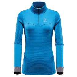 BlackYak Womens Carora L/S Shirt, L, LYONS BLUE