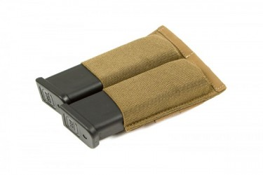 Blue Force Gear Ten-Speed Double Pistol Mag Pouch Coyote