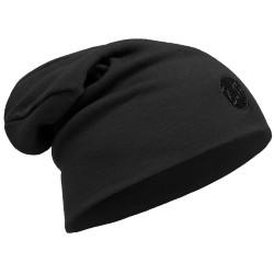 Buff Heavyweight Merino Wool Hat Loose, ONE SIZE, SOLID BLACK