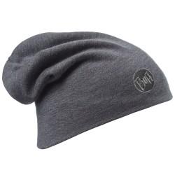 Buff Heavyweight Merino Wool Hat Loose, ONE SIZE, SOLID GREY