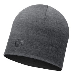 Buff Heavyweight Merino Wool Hat Regular, ONE SIZE, SOLID GREY
