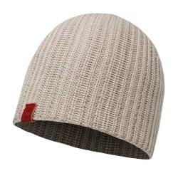 Buff Knittet Hat Haan, ONE SIZE, CABBLESTONE