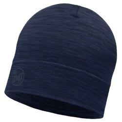 Buff Lightweight Merino Wool Hat, ONE SIZE, SOLID DENIM