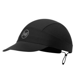 Buff Pack Run Cap, ONE SIZE, R-SOLID BLACK