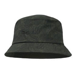 Buff Trek Bucket Hat, S/M, CHECKBOARD MOSS GREEN