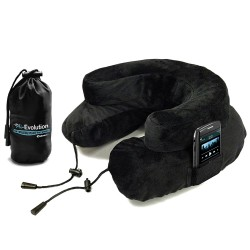 Cabeau Air Evolution Travel Pillow, BLACK