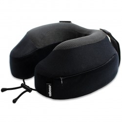 Cabeau Evolution S3 Travel Pillow, JET BLACK