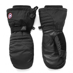 Canada Goose Ladies Down Mitts, Black