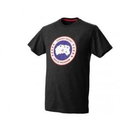 Canada Goose Mens CG T-Shirt, Black
