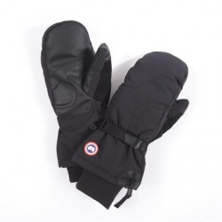 Canada Goose Mens Down Mitts, Black
