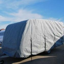 Caravan cover (L:640/555, B:258cm, H:228cm.)
