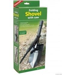 Coghlans Folding Shovel With Saw - Skovl