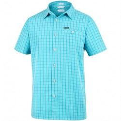 Columbia Declination Trail II S/S Shirt Mens, Iceberg Mini