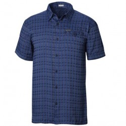 Columbia Declination Trail II S/S Shirt Mens, Navy