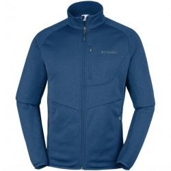 Columbia Drammen Point Full Zip Fleece Mens, Carbon Heather