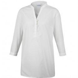 Columbia Early Tide Tunic Womens, Sea Salt Dots