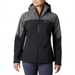 Columbia Evolution Valley II Jacket Womens, Black / Charcoal