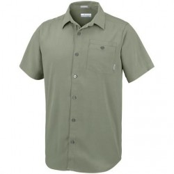 Columbia Mossy Trail Short Sleeve Shirt Mens, Cypress