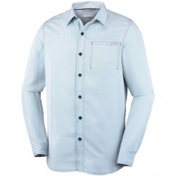 Columbia Nelson Point L/S Shirt Mens, Carbon