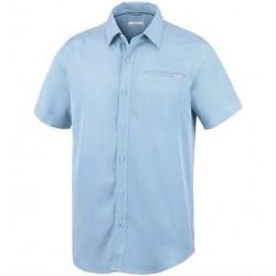 Columbia Nelson Point Short Sleeve Shirt Mens, Air