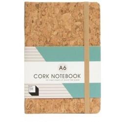 Cork Notebook A6