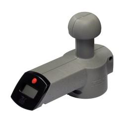 Digital kugletryksvægt til påhængskøretøjer med en aksel