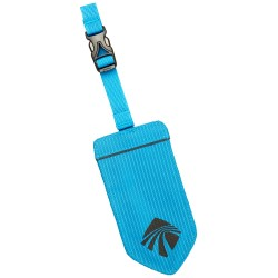Eagle Creek Reflective Luggage Tag, BRILLIANT BLUE