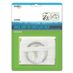 Elastiksnor til glasfiberstænger 2 mm